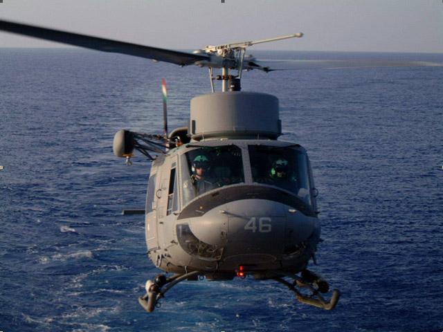 Elicottero Ab 212 : Il contributo della marina militare nella lotta agli