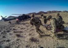 Esercitazione di evacuazione sanitaria in Afghanistan