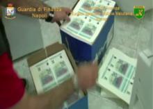 Scoperta stamperia clandestina di denaro falso