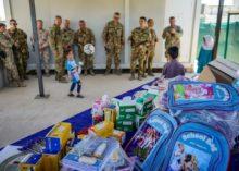 Donato materiale scolastico all'orfanatrofio di Herat