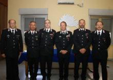 I premiati del Nucleo Carabinieri Ispettorato del Lavoro di Caserta