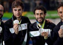 Rio 2016: argento a squadre per gli spadisti Marco Fichera e Andrea Santarelli