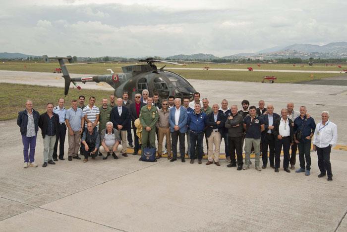 Incontro Sicurezza Volo al 72° Stormo di Frosinone con i  rappresentanti di avio superfici, elisuperfici e campi di volo locali