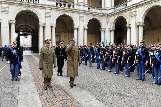Gli Allievi del 198 corso dell'Accademia Militare hanno prestato giuramento