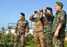 Libano: esercitazione congiunta con le Forze Armate libanesi