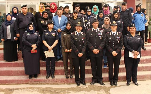Iraq 1° corso Female Mobile Training