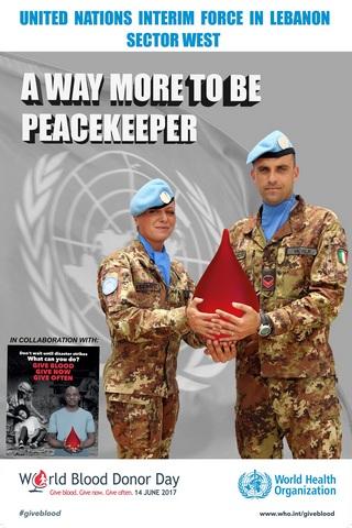 LIBANO: WORLD BLOOD DONATION DAY, MILITARI ITALIANI DONANO IL SANGUE A FAVORE DELLA POPOLAZIONE LIBANESE