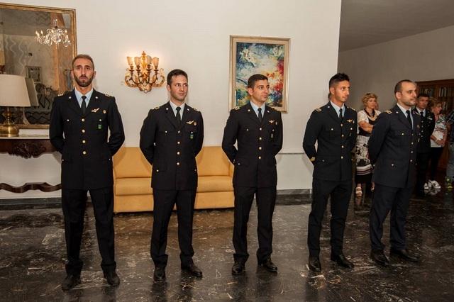 Elicottero 72 Stormo : Il ° stormo brevetta cinque nuovi piloti militari di