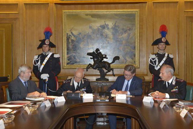 PROTOCOLLO D'INTESA TRA ARMA CARABINIERI E CLUB ALPINO ITALIANO