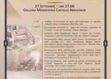 MARINA MILITARE: CONVEGNO ANNUALE SUL CASTELLO ARAGONESE DI TARANTO
