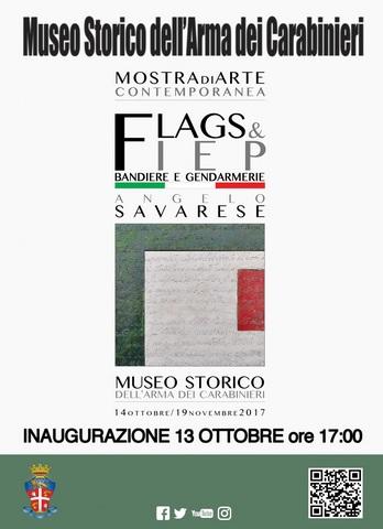 MUSEO STORICO DELL'ARMA. INAUGURAZIONE DELLA MOSTRA FLAGS & FIEP – BANDIERE E GENDARMERIE