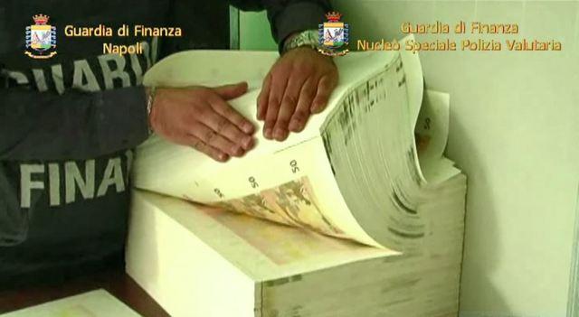 LOTTA ALLA PRODUZIONE E COMMERCIALIZZAZIONE DI BANCONOTE CONTRAFFATTE