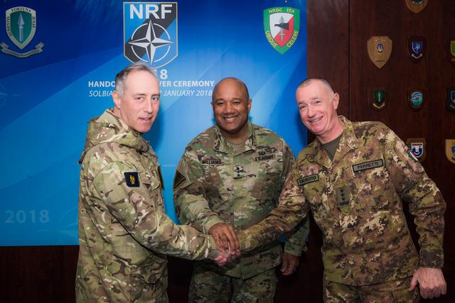 L'ITALIA CON IL NRDC-ITALY DI SOLBIATE AL COMANDO DELLA COMPONENTE TERRESTRE DELLE FORZE DI REAZIONE NATO (NRF)