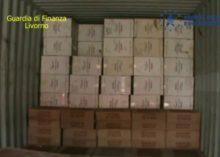 GDF LIVORNO: SEQUESTRATI 9.000 KG DI T.L.E. PROVENIENTI DAL MAROCCO