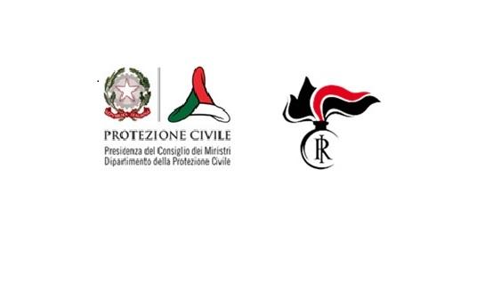 FIRMATA INTESA TRA IL DIPARTIMENTO DELLA PROTEZIONE CIVILE E ARMA DEI CARABINIERI
