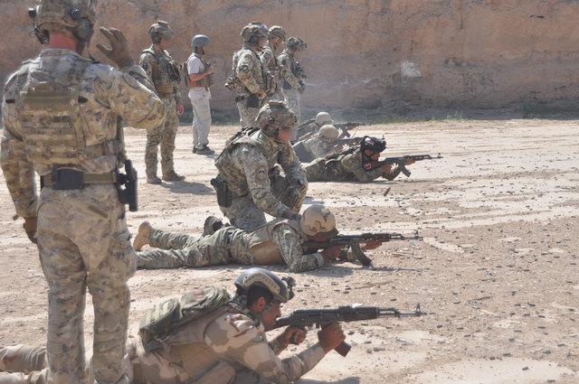 """MISSIONE IN IRAQ: CONCLUSO L'ADDESTRAMENTO AL""""DESERT BATTALION"""""""