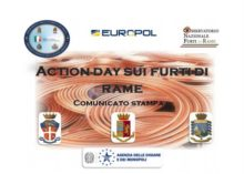 ACTION DAY CONTRO I FURTI DI METALLO