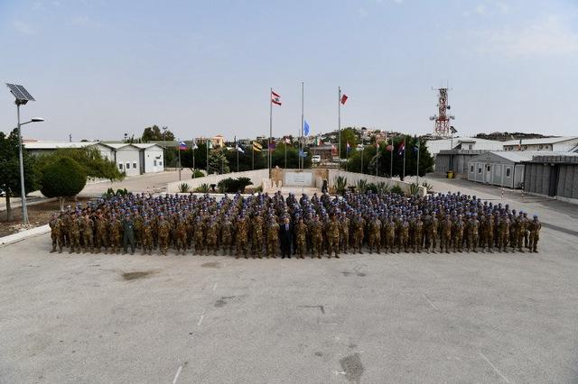 UNIFIL: CAPO DI SME INCONTRA I MILITARI ITALIANI IN LIBANO