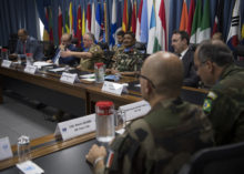 IL GENERALE DEL COL INCONTRA IL MINISTRO DELLA DIFESA LIBANESE