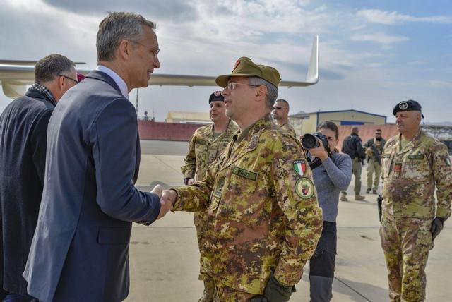 MISSIONE AFGHANISTAN: STOLTENBERG INCONTRA MILITARI ITALIANI