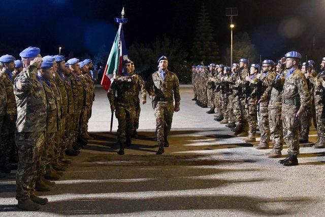 UNIFIL: ARRIVA BANDIERA DEL REGGIMENTO LOGISTICO GARIBALDI