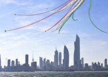 AERONAUTICA: CONCLUSO A KUWAIT CITY IL TOUR IN MEDIO ORIENTE DELLE FRECCE TRICOLORI E DEL REPARTO SPERIMENTALE VOLO
