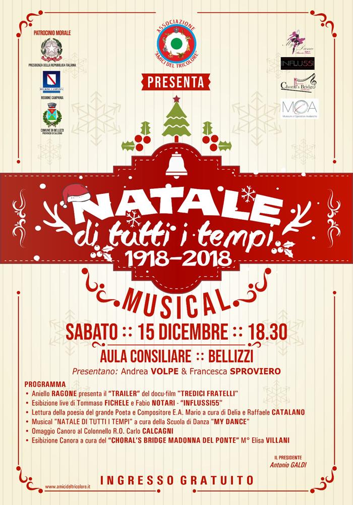 """""""NATALE DI TUTTI I TEMPI 1918-2018"""""""