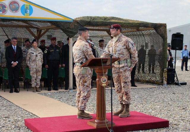 MISSIONE IN IRAQ CAMBIO AL VERTICE DELLA TASK FORCE PRAESIDIUM