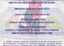 """ROMA – I CARABINIERI PER IL SOCIALE, """"CONCERTO PER L'INFANZIA"""""""