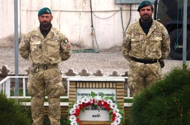 Herat: il Contingente italiano ricorda il Capitano di Vascello Bruno Vianini, scomparso nel 2005 in Afghanistan