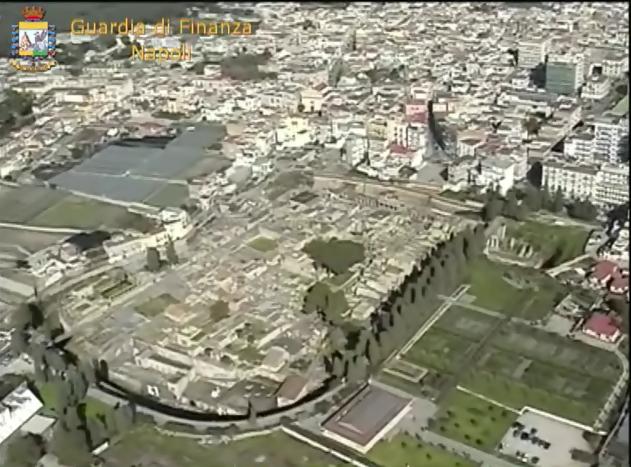 Irregolarità nei lavori degli scavi di Pompei