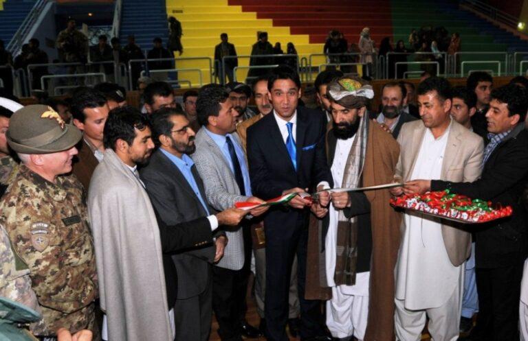 Herat: il Contingente italiano ristruttura il palazzetto dello sport 'Taraqi Park'