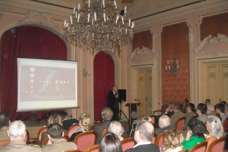 Astrofisica al Circolo Ufficiali di Bologna