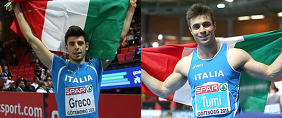 Atletica: Daniele Greco campione europeo, bronzo per Michael Tumi
