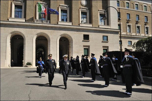 Il Capo di Stato Maggiore della Difesa a Palazzo AM