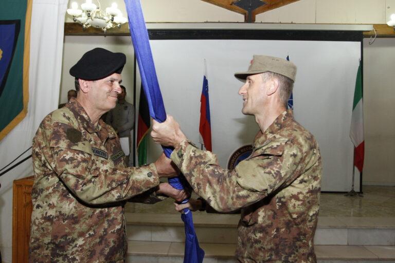 Il 1° Reggimento artiglieria da montagna di Fossano lascia la guida del Provincial Reconstruction Team – CIMIC Detachment di Herat.