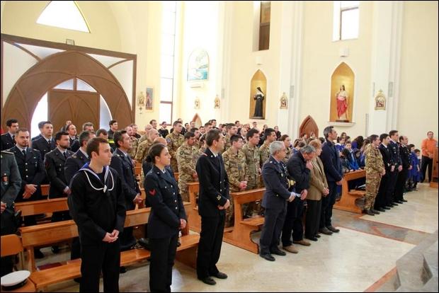 Lampedusa celebra il precetto pasquale