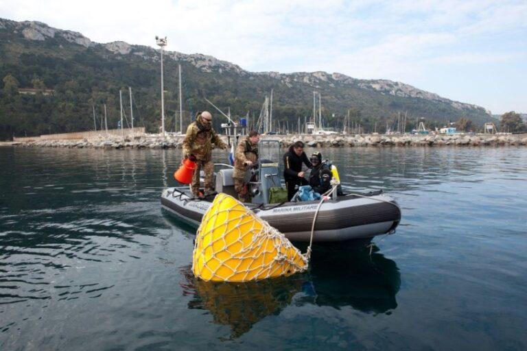 Palombari Marina: bonifica ordigno bellico a Cagliari