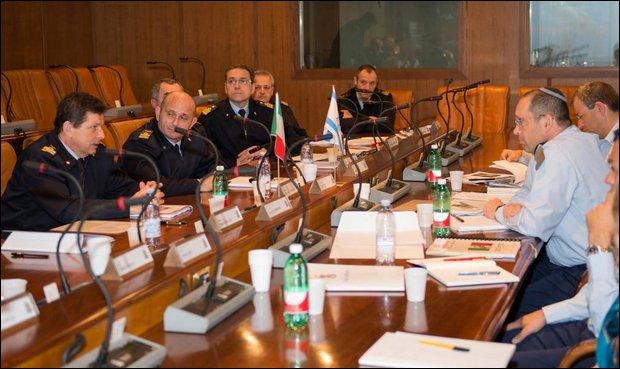 Il Capo del Material Directorate israeliano in Italia