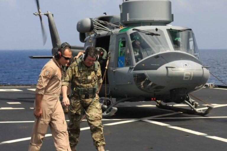 Antipirateria:visita del Comandante della Componente Marittima della NATO