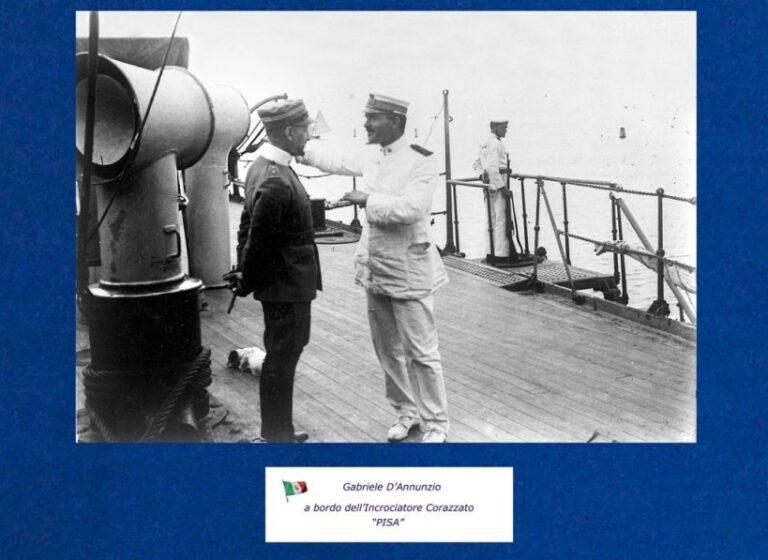 Taranto – Commemorazione dei 150 anni dalla nascita di Gabriele D'Annunzio