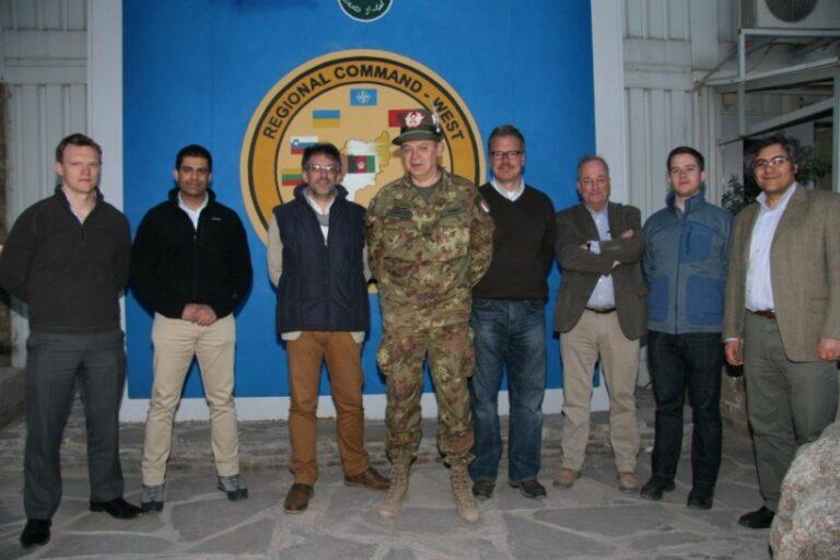 Afghanistan: un team di opinionisti internazionali dei Paesi NATO in visita al Regional Command West