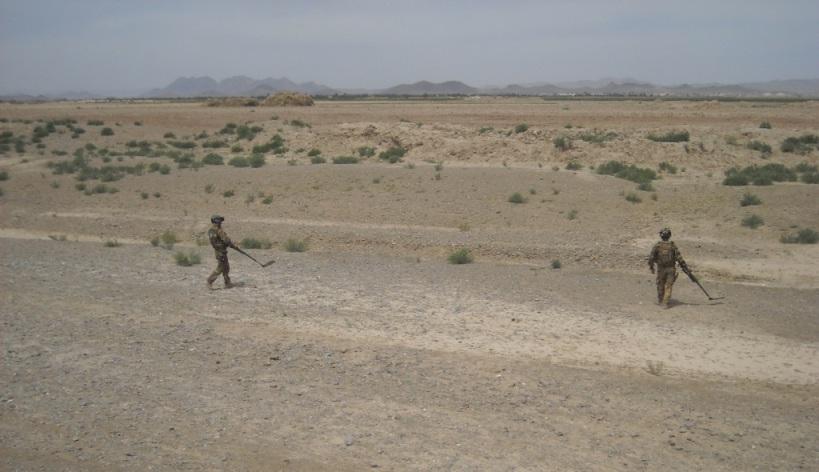 Afghanistan: operazione di controllo del territorio porta alla scoperta di deposito munizioni
