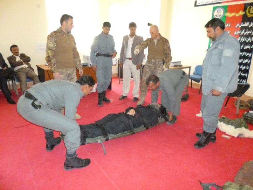 Afghanistan: terminato il corso BLS/CLS a favore della polizia afghana
