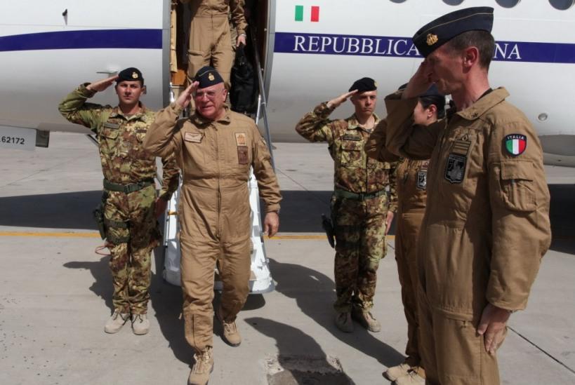 Afghanistan: il Capo di Stato Maggiore dell'Aeronautica Militare visita il Regional Command West
