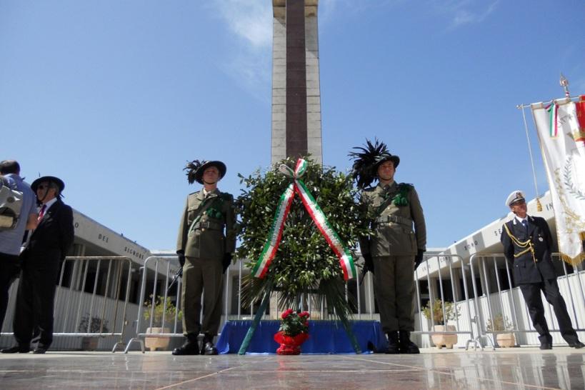 Cerimonia al Sacrario Militare di Bari