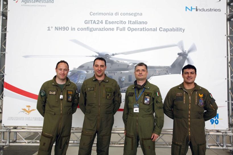 Primo elicottero NH90 TTH FOC