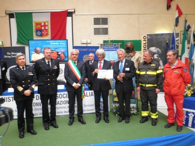 Il 'Premio Artiglio' al Comando Subacquei ed Incursori della Marina Militare