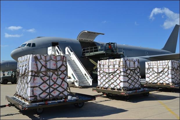 L'A.M. trasporta in Mali materiale umanitario