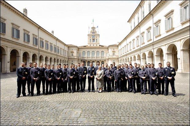 La Scuola Douhet visita Quirinale e Parlamento
